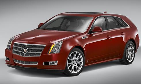 Cadillac Unveils New Luxury Wagon