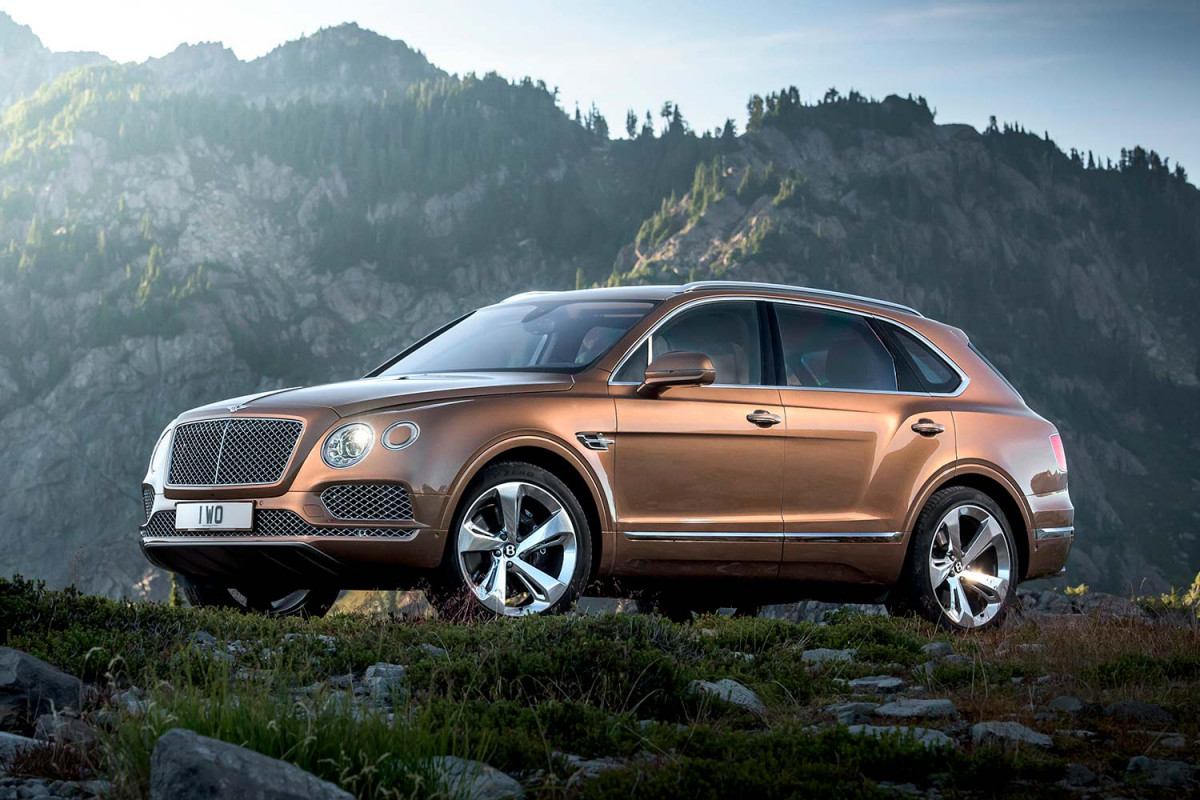 2017 Bentley Bentayga SUV: Offroad for $238,000 and Up